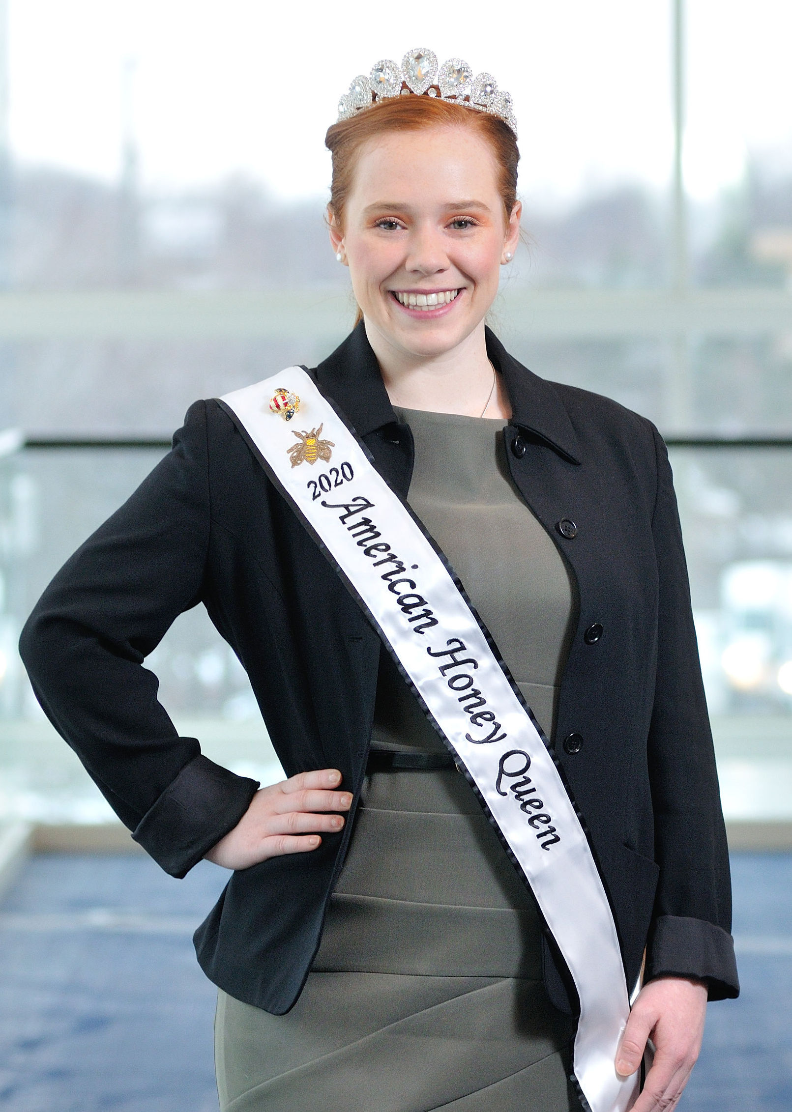 2020 American Honey Queen Mary Reisinger